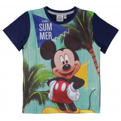 Mickey Mouse T Shirt - Navy