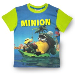 Minions T Shirt - Sub Green