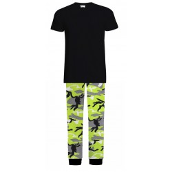 Mens Pyjamas - Green Camo -...