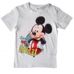 Mickey Mouse T Shirt - White