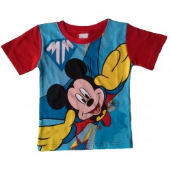 Mickey Mouse T Shirt - Red