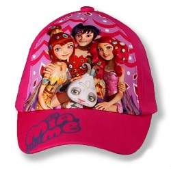 Mia and Me Cap - Dark Pink