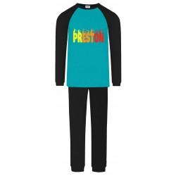 Preston Pyjamas - Aqua