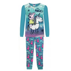 Peppa Pig Pyjamas - Blue -...