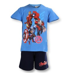 Avengers Short Pyjamas - Blue