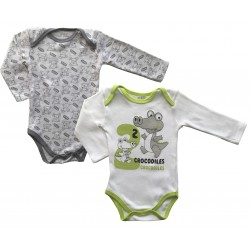 Long Sleeved Babygrows -...