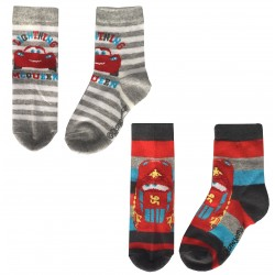 Baby Disney Cars Socks - Grey