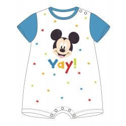 Mickey Mouse Romper - Blue