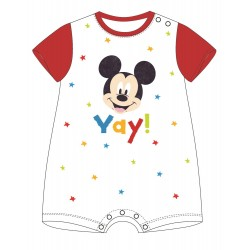 Mickey Mouse Romper - Red