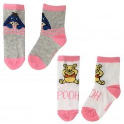 Winnie the Pooh Socks - Pink