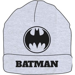 Batman Beanie Hat - Grey