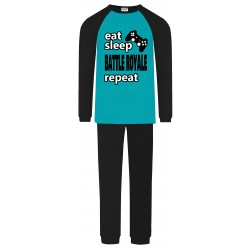 Battle Royale Pyjamas - Aqua