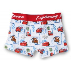 Cars Boxers - White