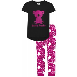 Bearly Awake Pyjamas - Pink