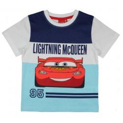 Cars T Shirt - White / Blue