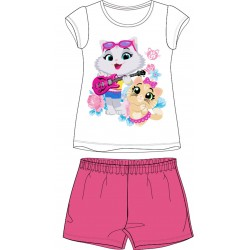 44 Cats Short Pyjamas - Pink