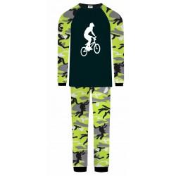 BMX Pyjamas - Green Camo