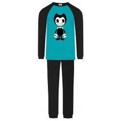 Bendy Pyjamas - Aqua