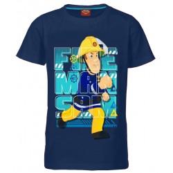 Fireman Sam T Shirt - Navy