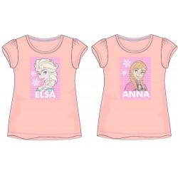 Frozen Sequin T Shirt - Peach