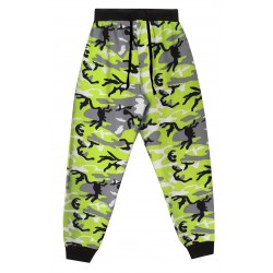 Mens Lounge Pants - Green Camo