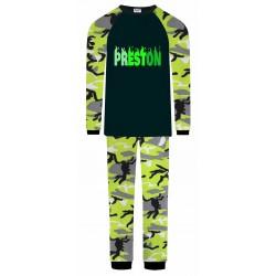 Preston Pyjamas - Green Camo