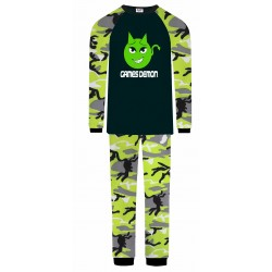 Games Demon Pyjamas - Green...
