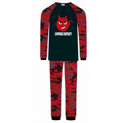 Games Demon Pyjamas - Red Camo