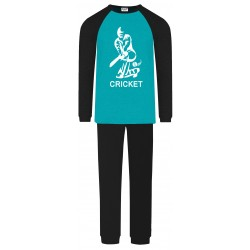 Cricket Pyjamas - Aqua -...