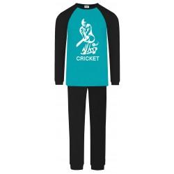 Cricket Pyjamas - Aqua -...