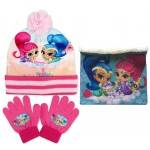 Shimmer and Shine Hat, Snood and Gloves
