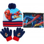 Spiderman Hat, Snood and Gloves