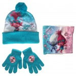 Trolls Hat, Snood and Gloves
