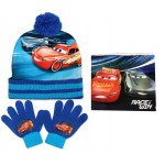 Cars Hat, Snood and Gloves