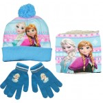 Frozen Hat, Snood and Gloves