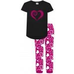 Glitter Heart Pyjamas