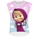 Masha and the Bear T Shirt