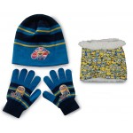Minions Hat, Snood & Gloves