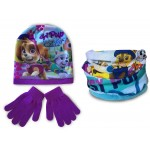 Paw Patrol Hat Snood and Gloves
