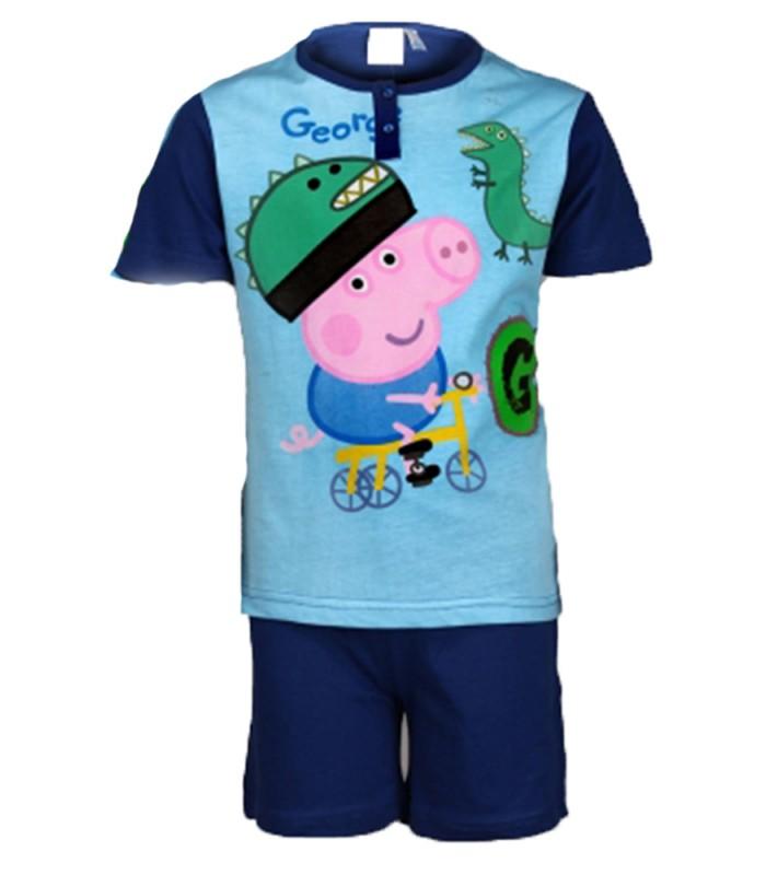7a24db52dbe9 Peppa Pig George Short Pyjamas